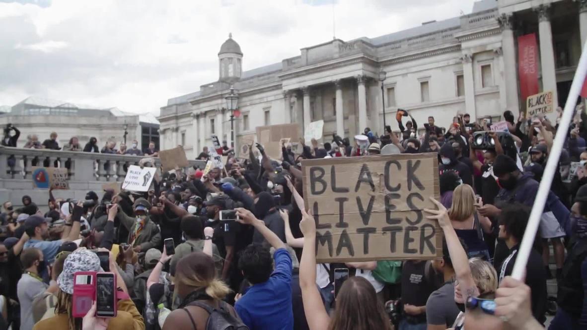 Reino Unido: Tensión entre manifestantes de extrema derecha y de Black Lives Matter
