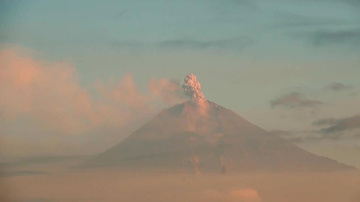 Ecuador: Sangay volcano activity threatens farmers with ash fallout