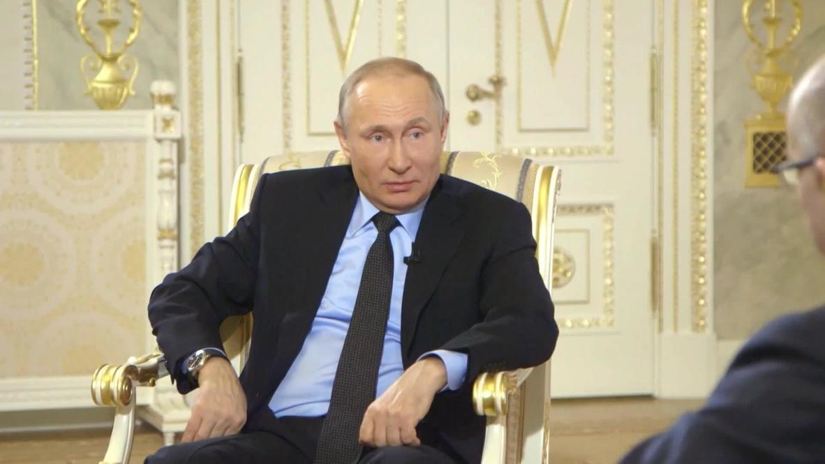 """Rusia: """"La gente cree que el mundo sería peor sin una Rusia fuerte"""" - Putin"""