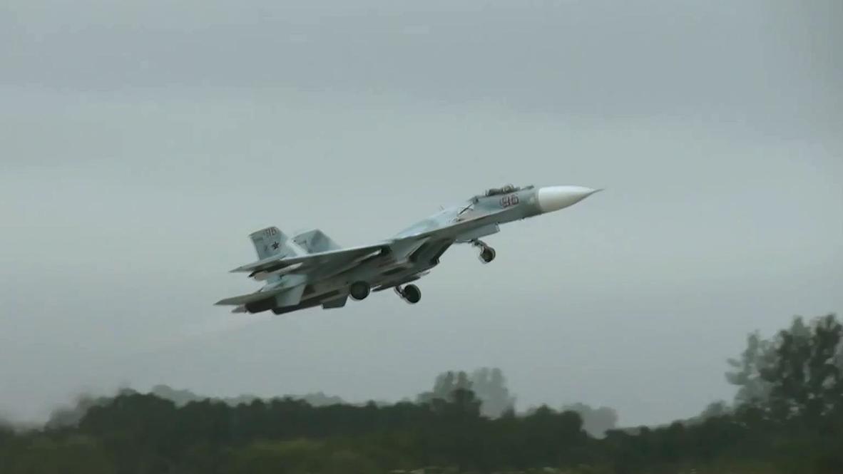 Rusia: Aviones de combate rusos interceptan bombarderos estratégicos estadounidenses sobre el Mar Báltico