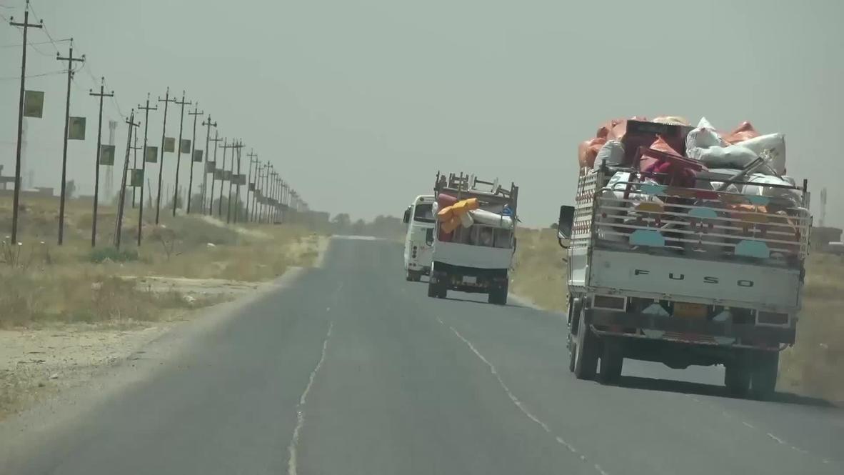 Irak: Familias yazidís regresan a Sinjar después de ser desplazadas por Estado Islámico