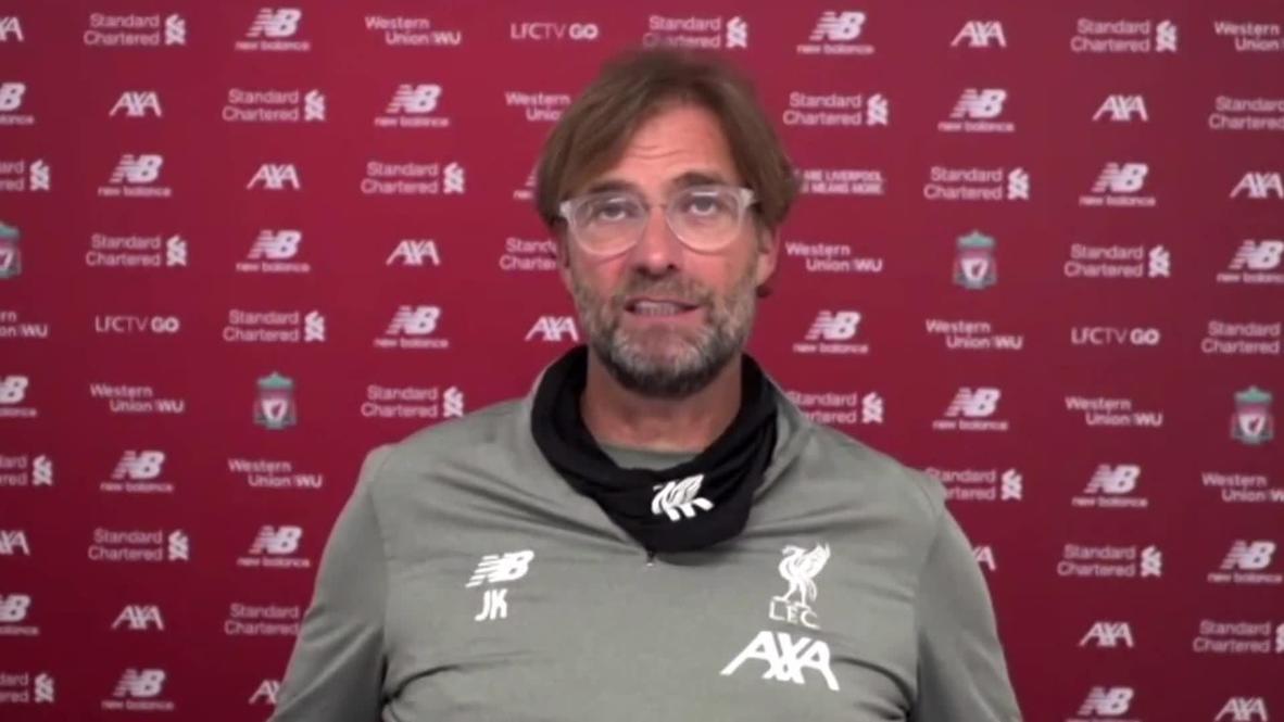 المملكة المتحدة: مدرب ليفربول يورغن كلوب يكشف عن مخاوفه حيال إلغاء موسم الدوري الإنجليزي الممتاز