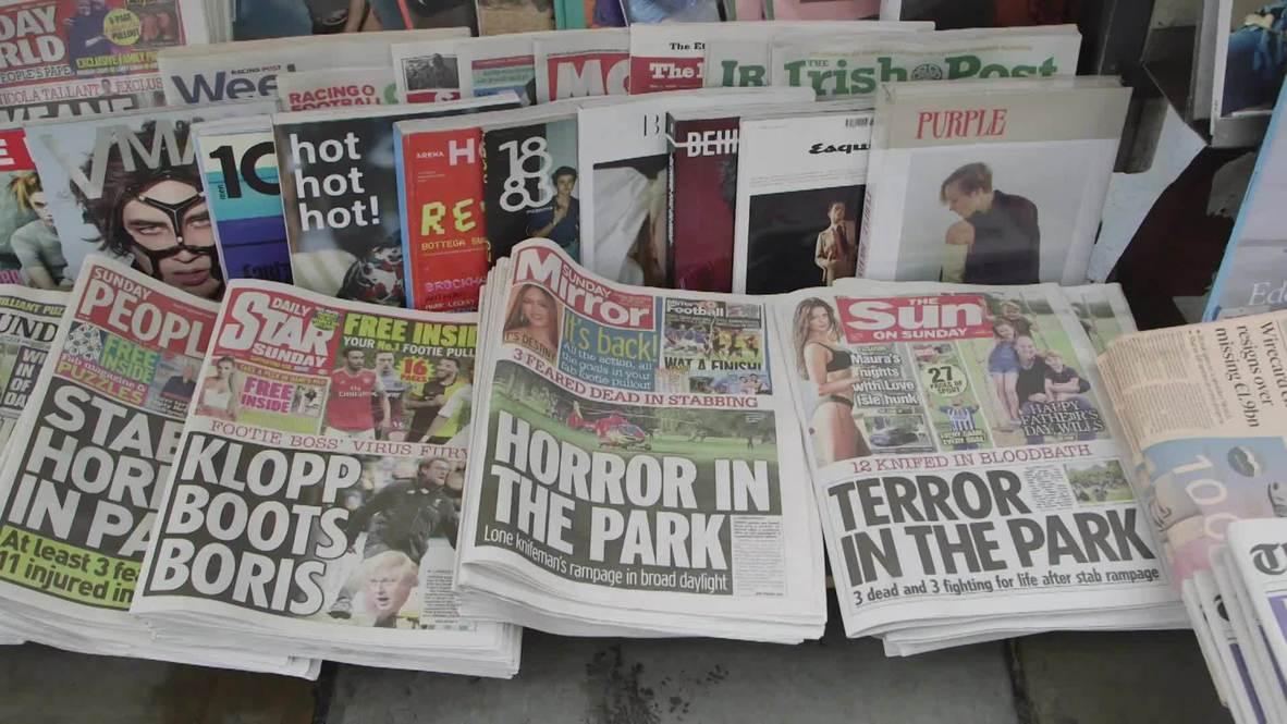Reino Unido: Londinenses reaccionan al mortal ataque con arma blanca en Reading