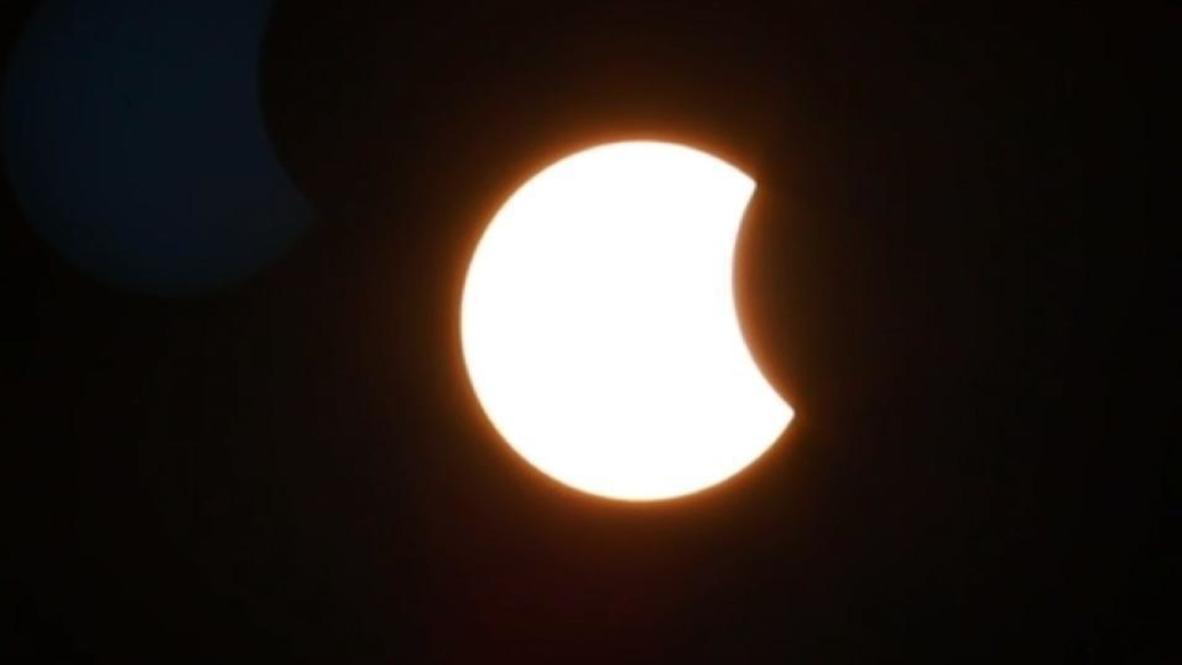Iran: 'Ring of fire' solar eclipse dazzles in Tehran sky