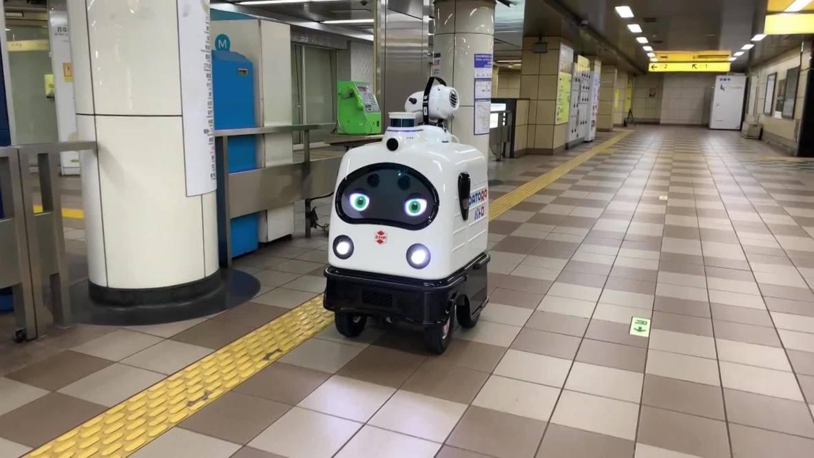 Умывальников начальник. Автономный робот дезинфицирует токийскую станцию Цукисима