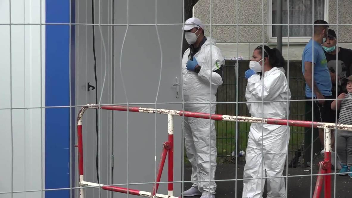ألمانيا: فرض إجراءات أمنية مشددة على برج سكني خاضع للحجر الصحي في غوتينغين