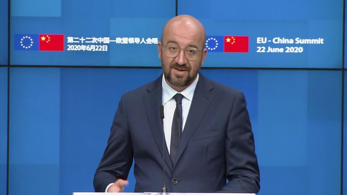 بلجيكا: الاتحاد الأوروبي يحثّ الصين على احترام الحكم الذاتي لهونغ كونغ
