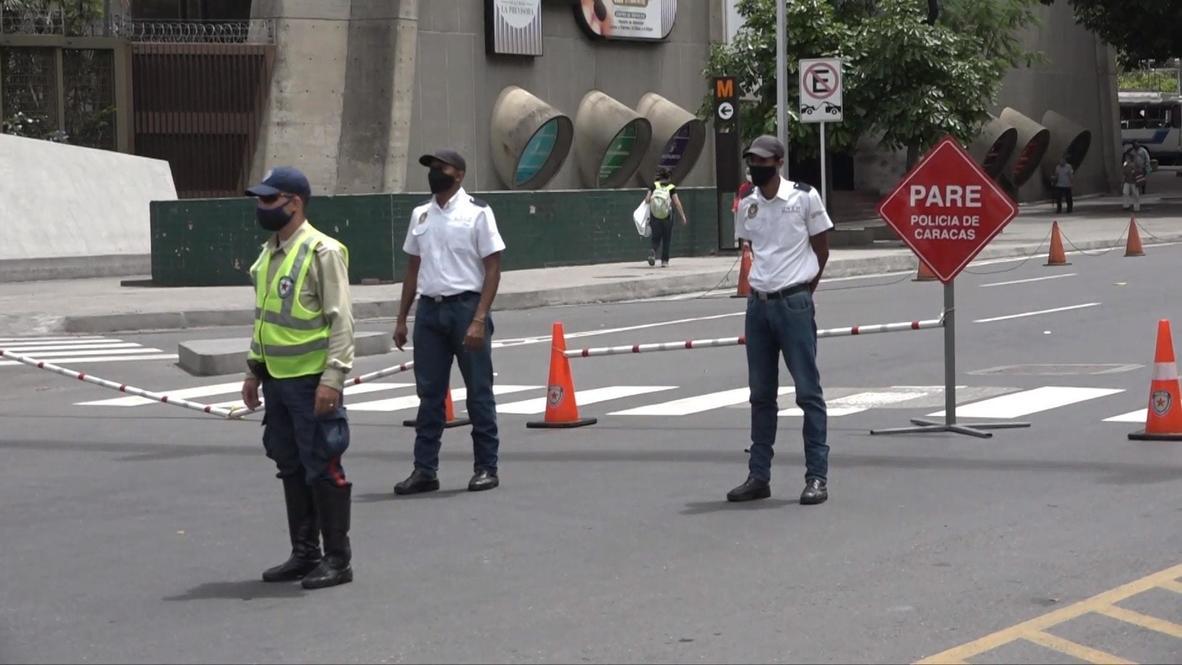 Venezuela: Despliegan las fuerzas de seguridad para controlar el cumplimiento de la cuarentena por covid-19