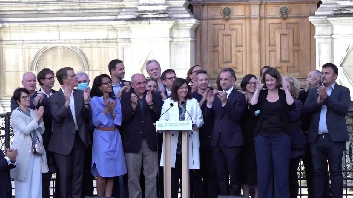 فرنسا: إعادة انتخاب آن هيدالغو عمدة لباريس