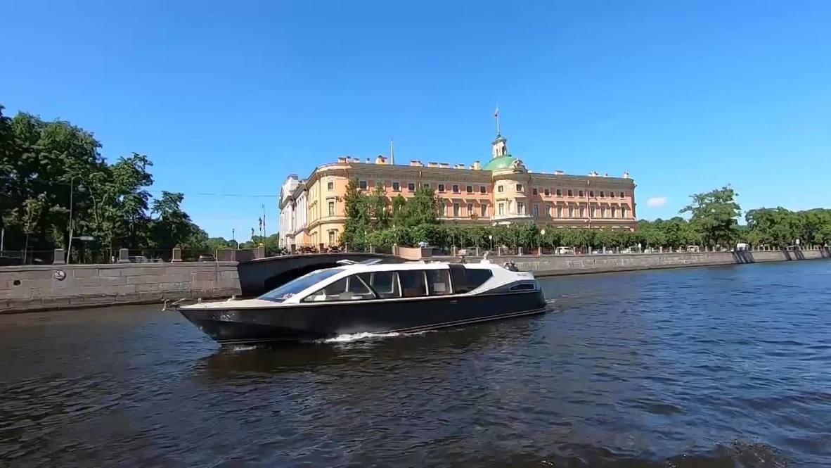 Россия: В Санкт-Петербурге открылся сезон круизной навигации