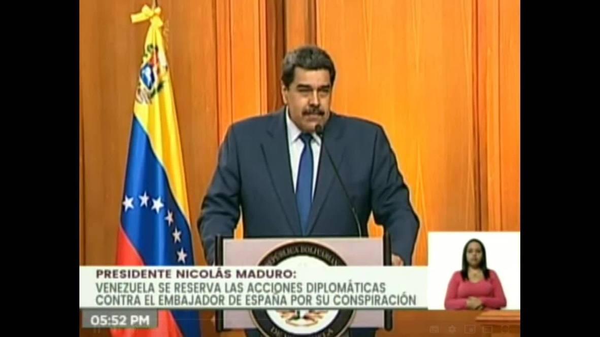 فنزويلا: مادورو يطرد سفير الاتحاد الأوروبي عقب فرض عقوبات ضد مسؤولين فنزويليين