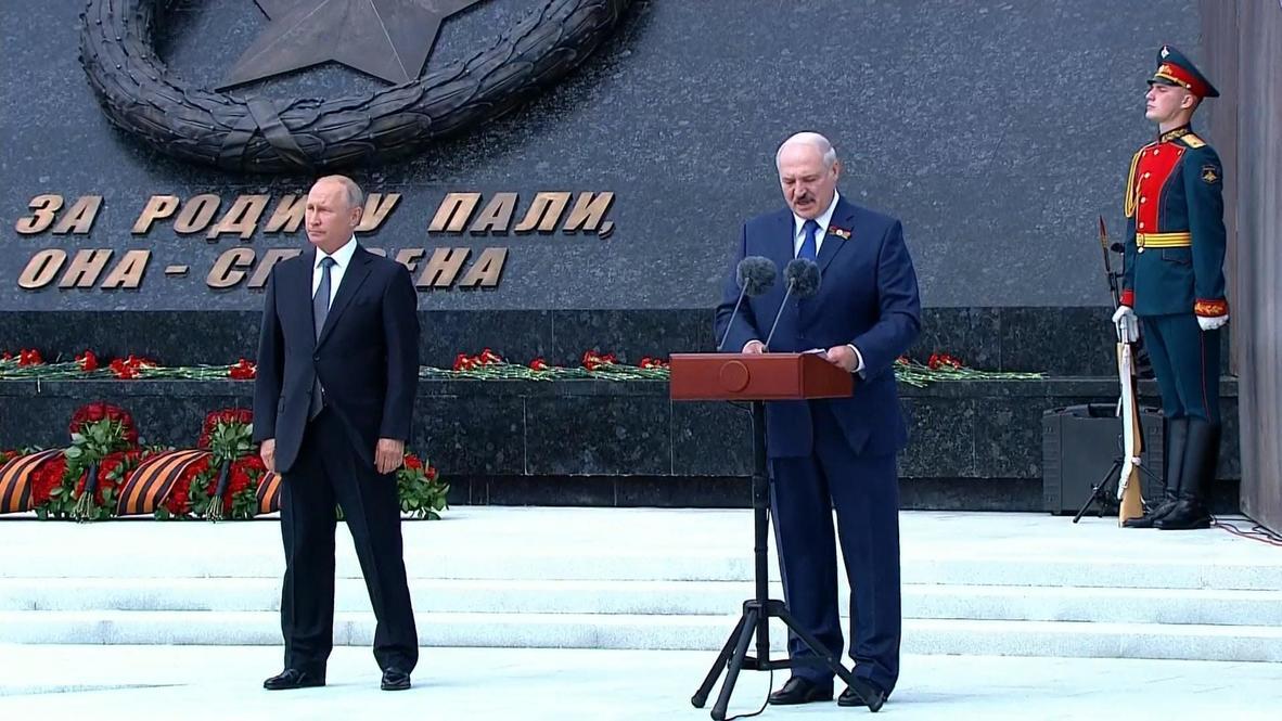 Россия: Ржевский мемориал всегда будет символом дружбы между Белоруссией и РФ - Лукашенко