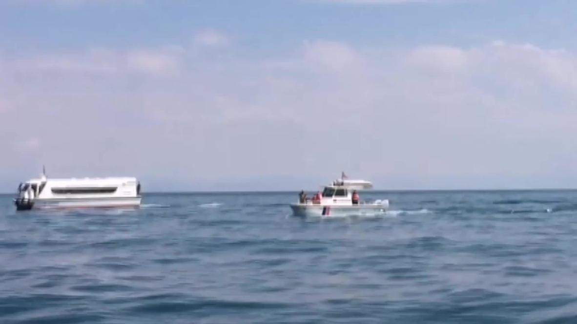 Turquía: La policía realiza una búsqueda en el lago de Van tras el hundimiento de un barco con migrantes