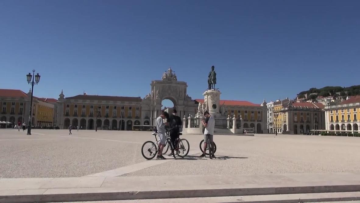 Portugal: Lisboa vuelve a aplicar cuarentena tras un aumento de casos de coronavirus