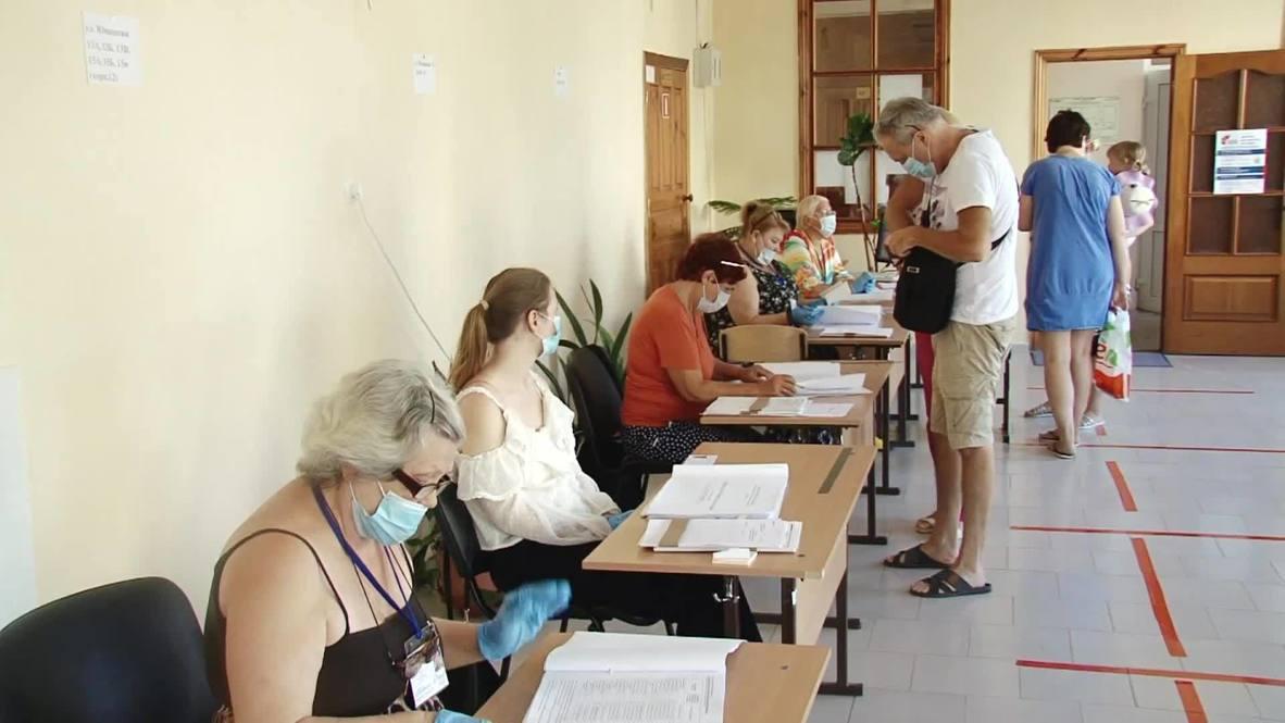 Россия: Голосование по поправкам к Конституции РФ завершилось в Севастополе
