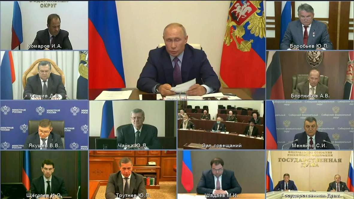 روسيا: بوتين يشكر المواطنين على دعمهم التغييرات الدستورية