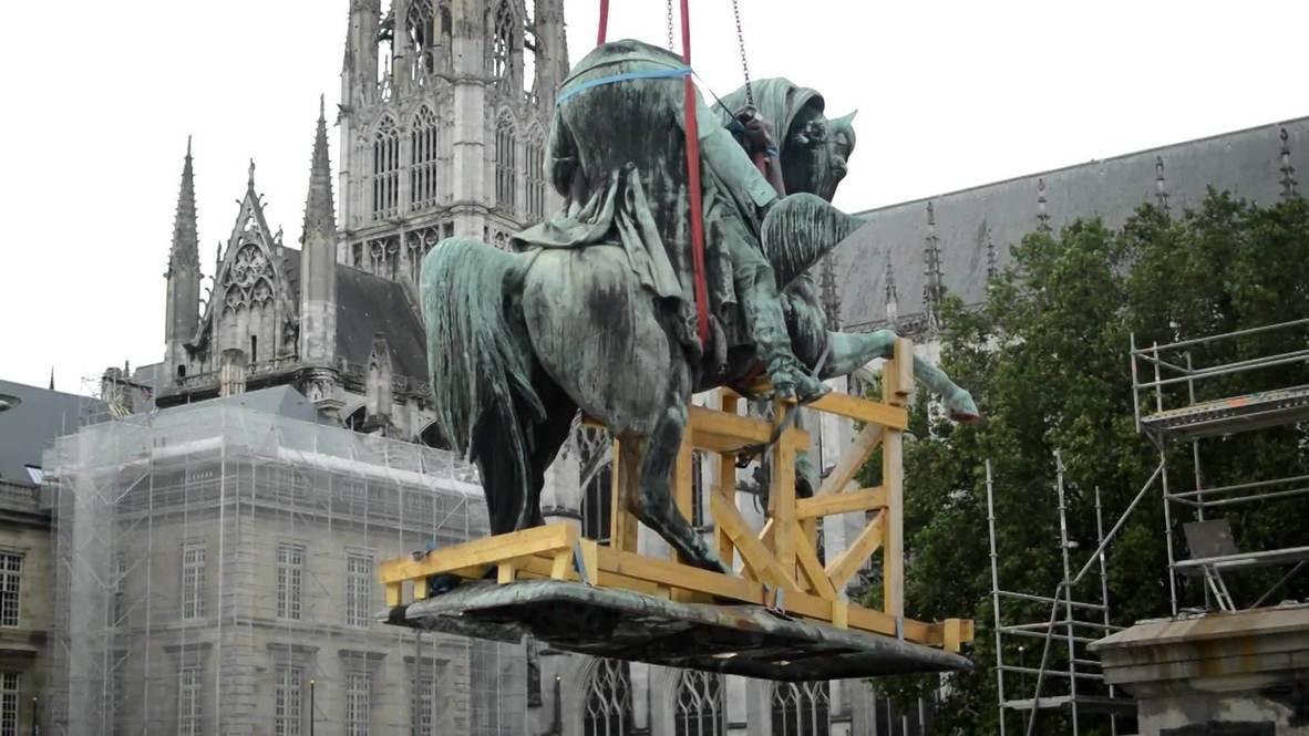 France: Rouen removes Napoleon Bonaparte statue