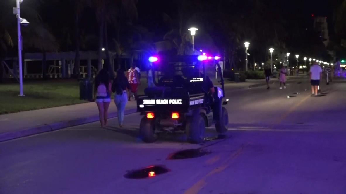EE.UU.: Miami Beach impone toque de queda nocturno por el aumento de casos de covid-19