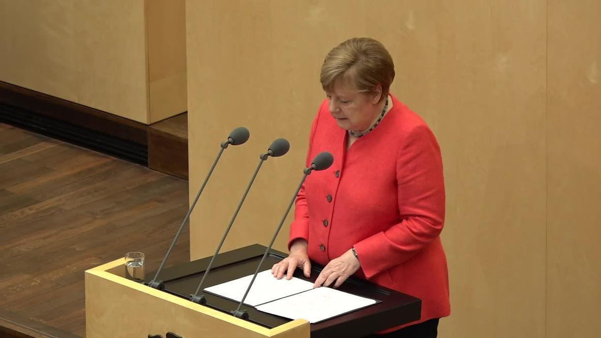 """Alemania: """"Europa debe asumir una mayor responsabilidad global"""" - Merkel tras inicio de la presidencia alemana de la UE"""