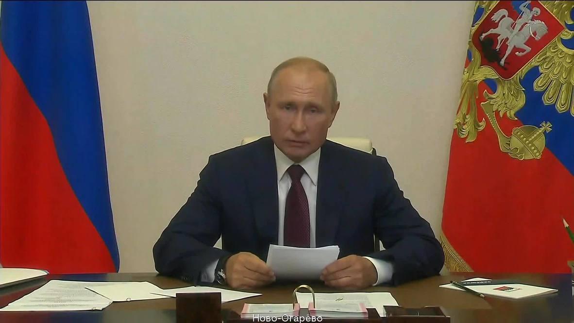 """Россия: """"Поправки вступают в силу. Они приняты по воле народа"""" - Путин"""