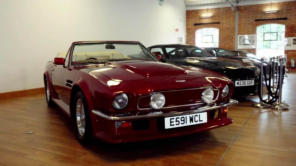 A la venta el Aston Martin AMV8 Volante de David Beckham