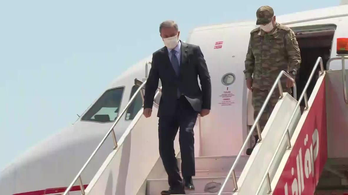 ليبيا: وزير الدفاع التركي يلتقي ممثلي حكومة الوفاق الوطني في طرابلس