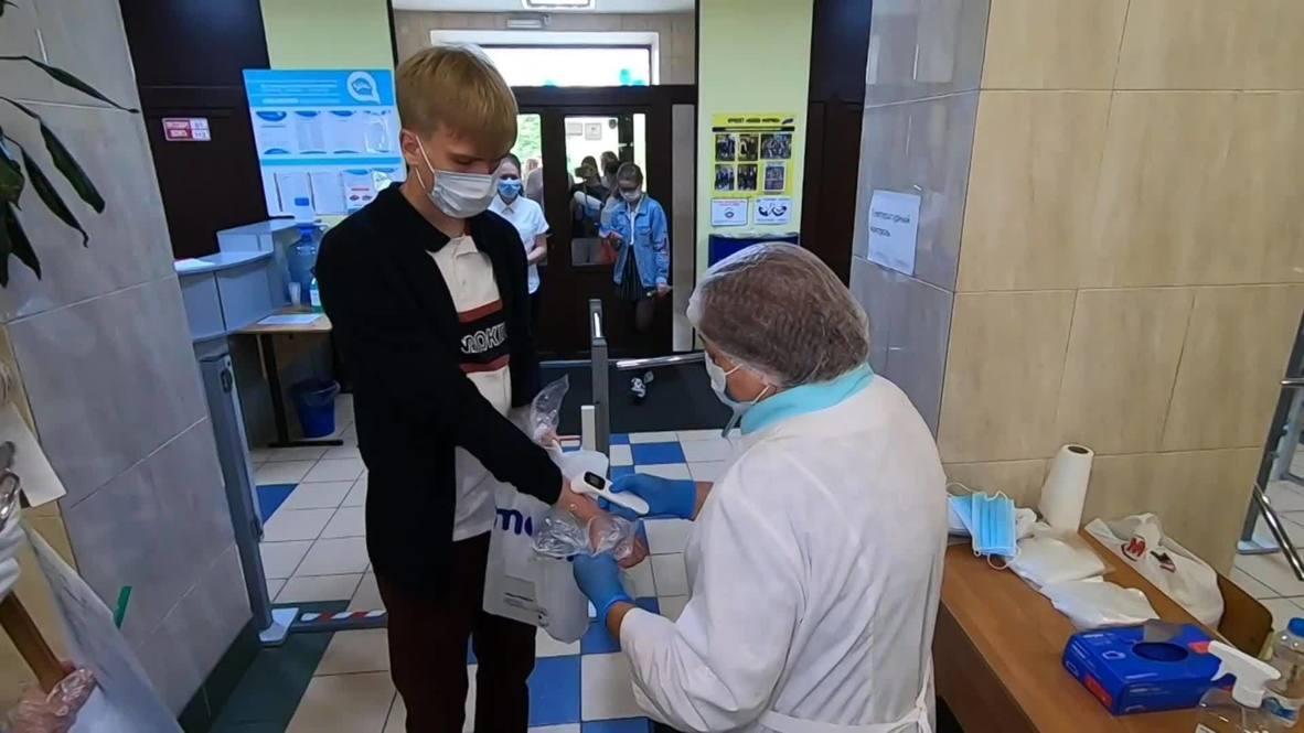 Россия: Выпускники школ сдали первые госэкзамены