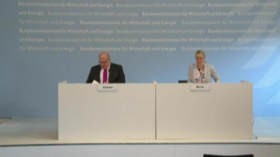 Germany: Altmaier praises adoption of coal exit law as 'historic milestone'