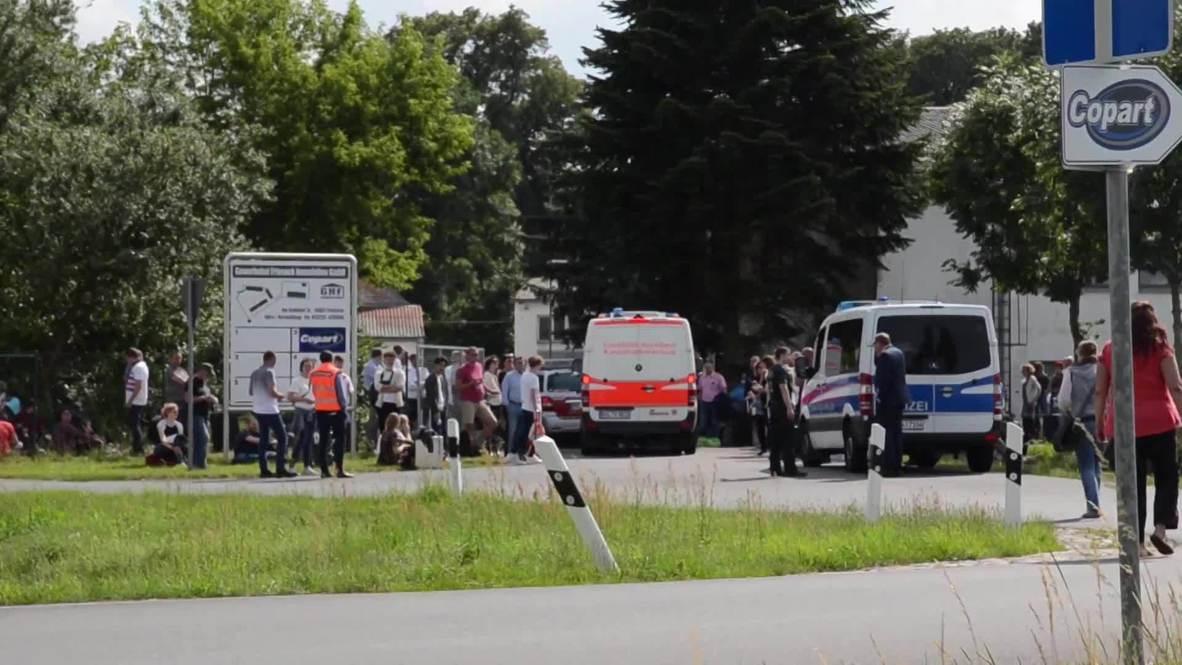 Alemania: Cientos de personas son evacuadas tras una amenaza de bomba en un tren