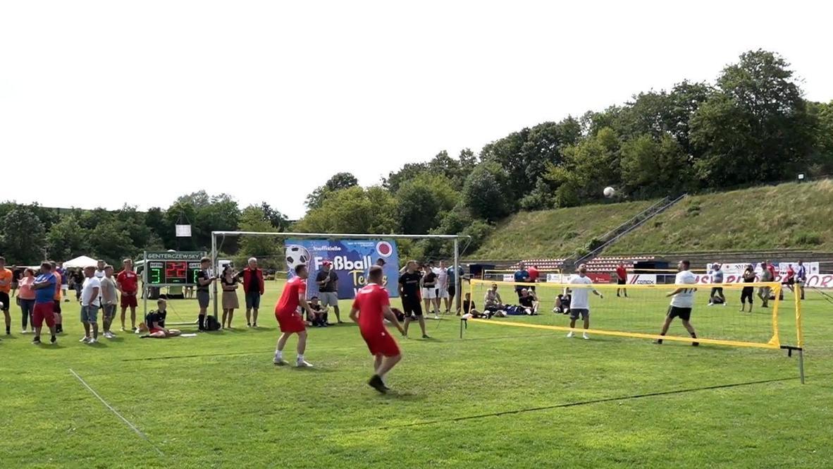 """ألمانيا: لاعبان سابقان من نادي """"يونيون برلين"""" يشاركان في كأس العالم لتنس كرة قدم"""