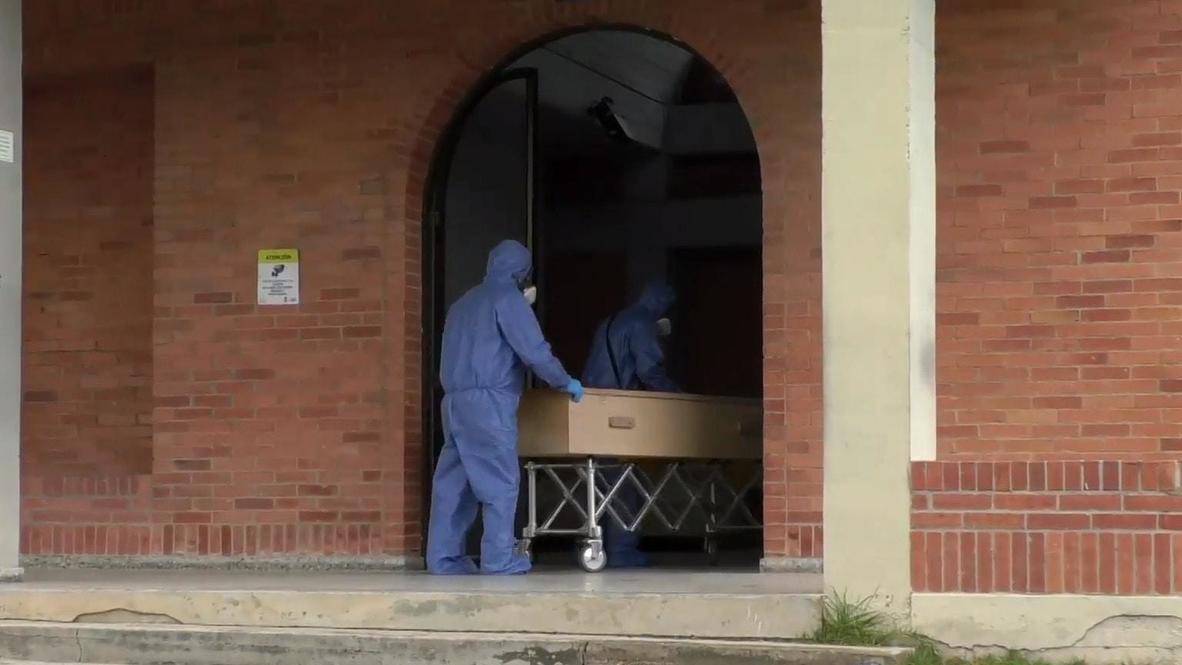 Colombia: Cementerio de Bogotá se prepara para un aumento de infecciones de covid-19