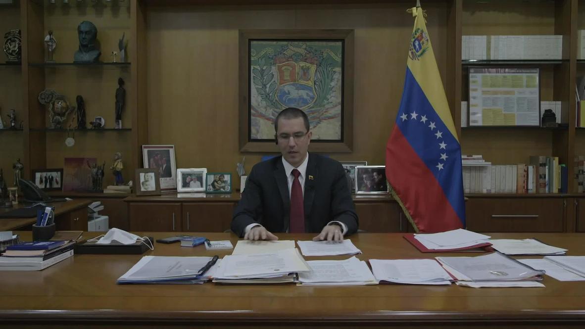 مقابلة مع وزير الخارجية الفنزويلي خورخي أرياسا *محتوى من جهة شريكة*