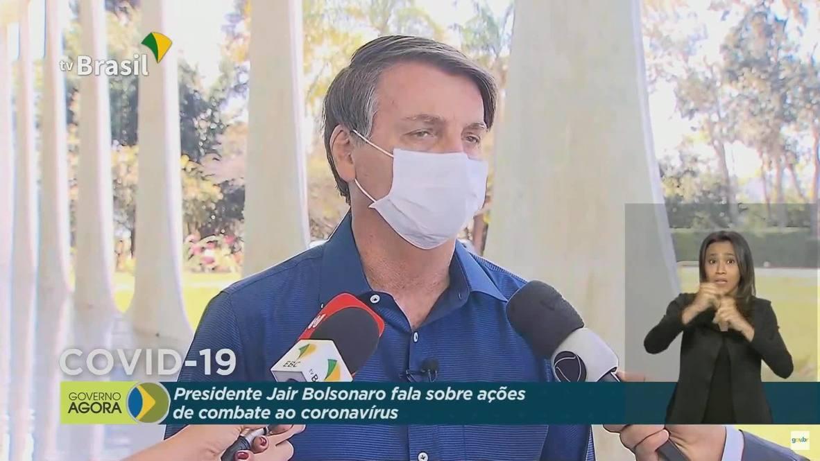 Brazil: President Jair Bolsonaro tests positive for coronavirus