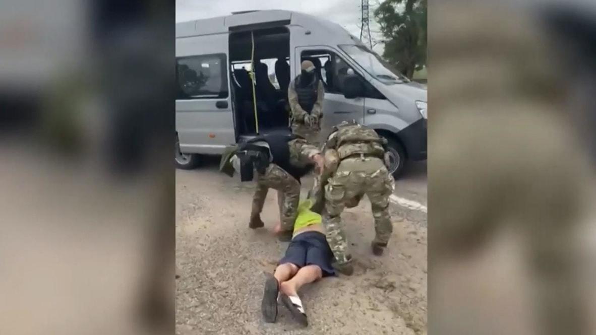 Россия: В Крыму пресечена незаконная добыча осетров преступной группой