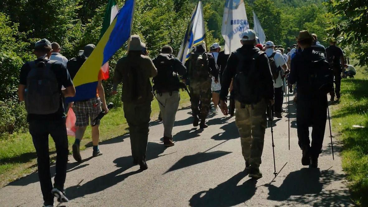 Bosnia and Herzegovina: Annual march for Srebrenica victims kicks off despite COVID-19 spread