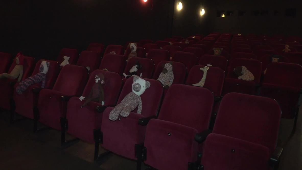 Germany: Berlin cinema ensures social distancing by placing plush toys in audience