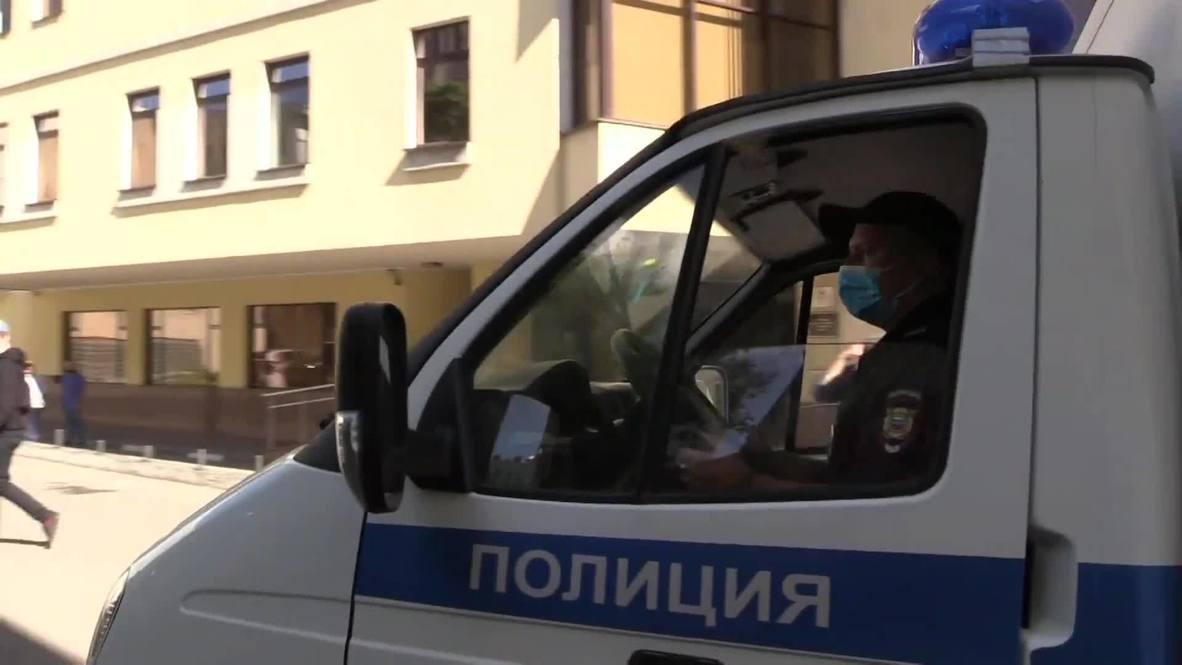 Россия: Главу Хабаровского края Сергея Фургала доставили в Басманный суд Москвы