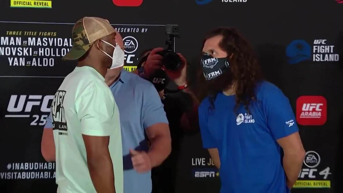 UAE: Fighters prepare for UFC showdown in Abu Dhabi