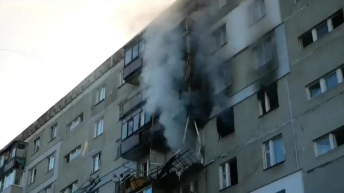 Россия: Пять человек пострадали в результате взрыва газа в жилом доме в Нижнем Новгороде