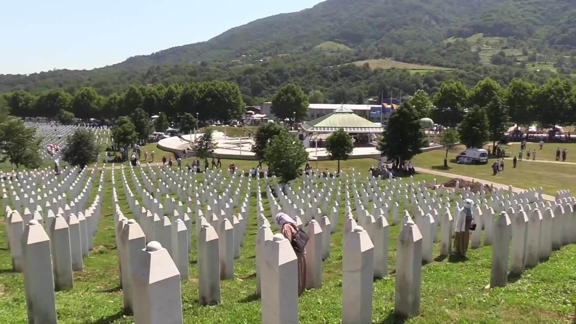 Bosnia and Herzegovina: 25th anniversary of Srebrenica massacre marked by COVID pandemic