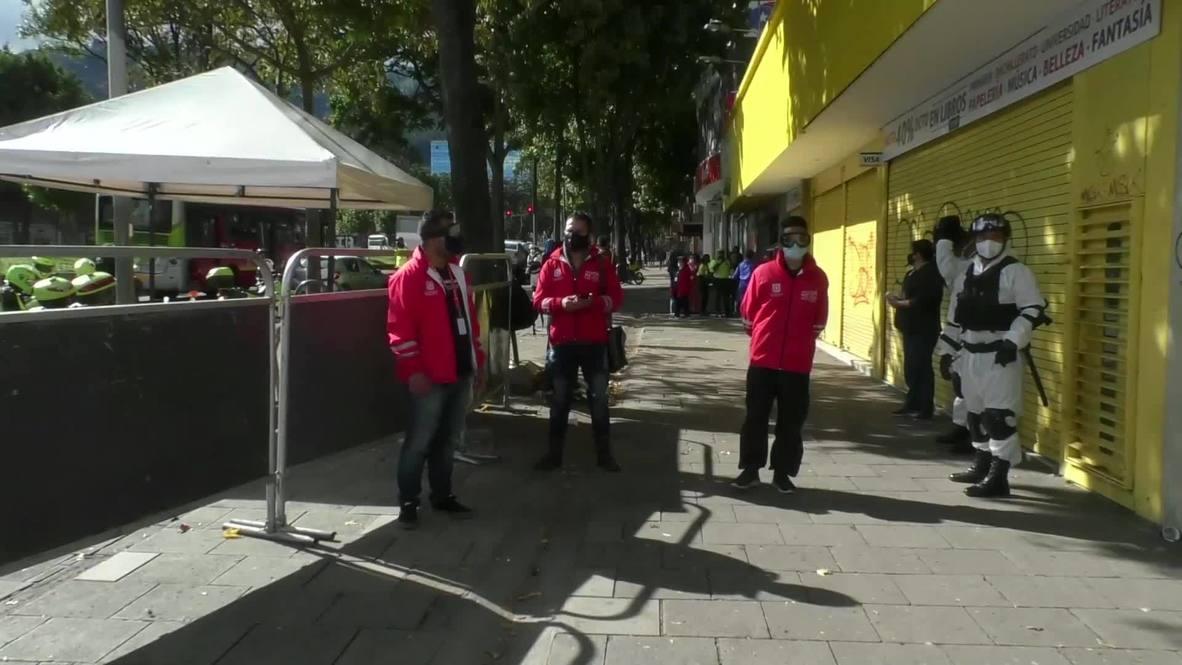 Colombia: Bogotá vuelve a una cuarentena estricta por el aumento de casos de covid-19