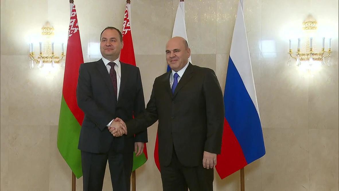 Россия: Москва надеется выправить ситуацию в товарообороте с Белоруссией – Мишустин