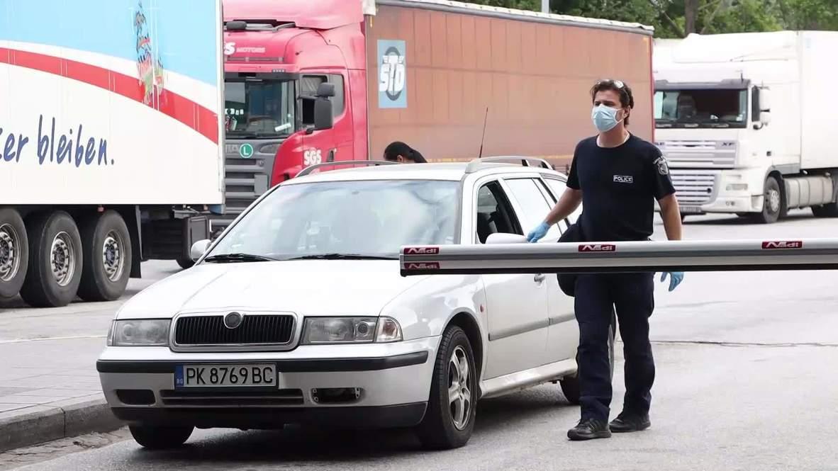 Grecia: Colas en la frontera búlgara por las pruebas de covid-19 a los viajeros que entren al país