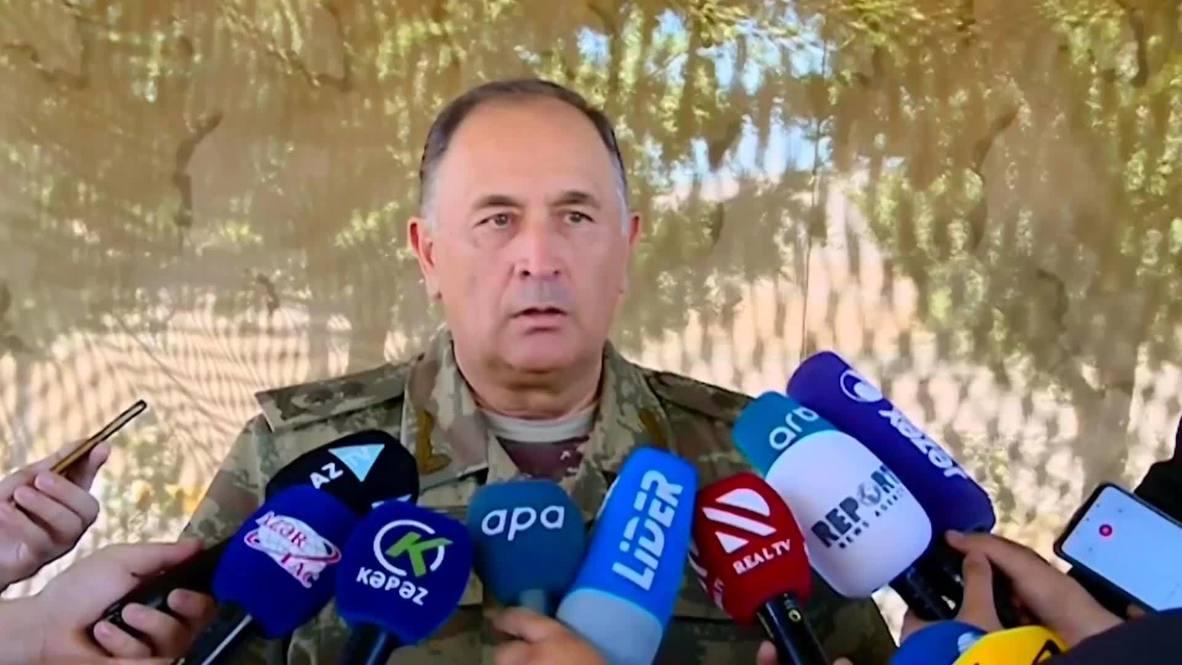 Азербайджан: Баку сообщил о гибели своих двух высокопоставленных военных при столкновениях с армянской армией