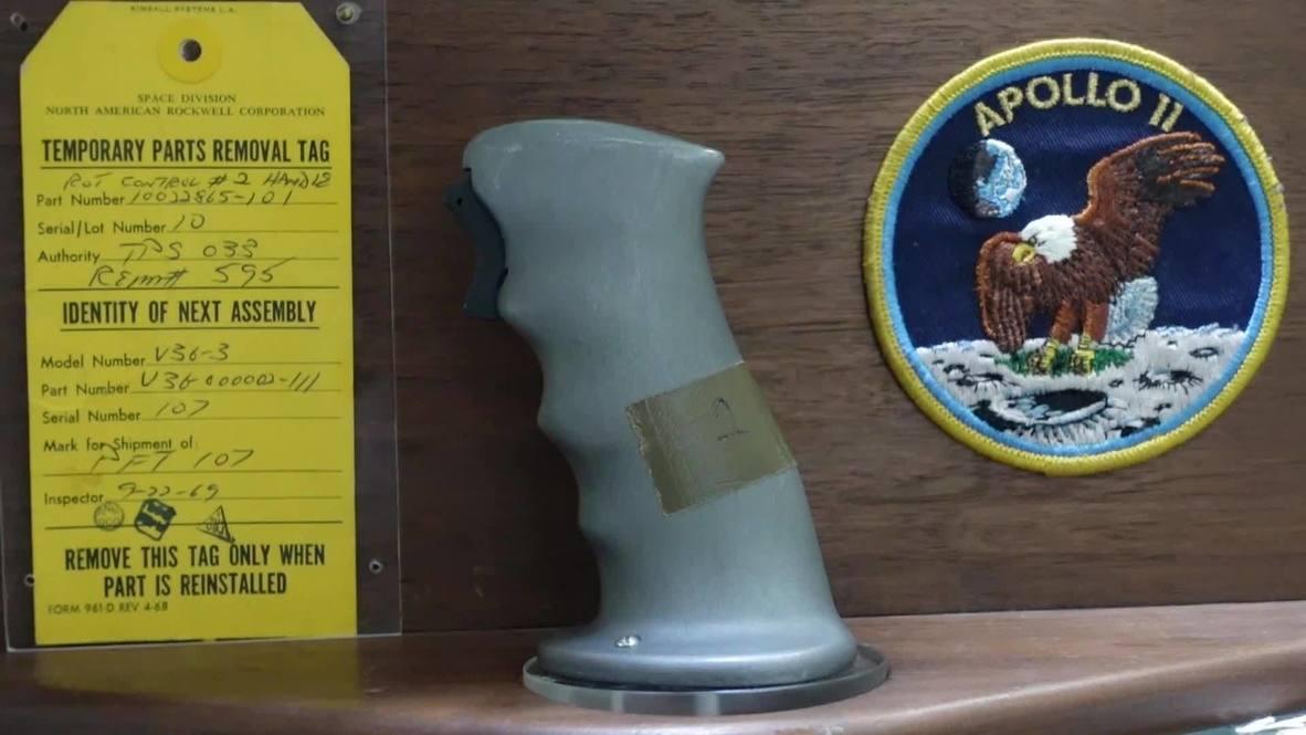 EE.UU.: Subastan los controles de vuelo utilizados por Neil Armstrong en la llega a la Luna