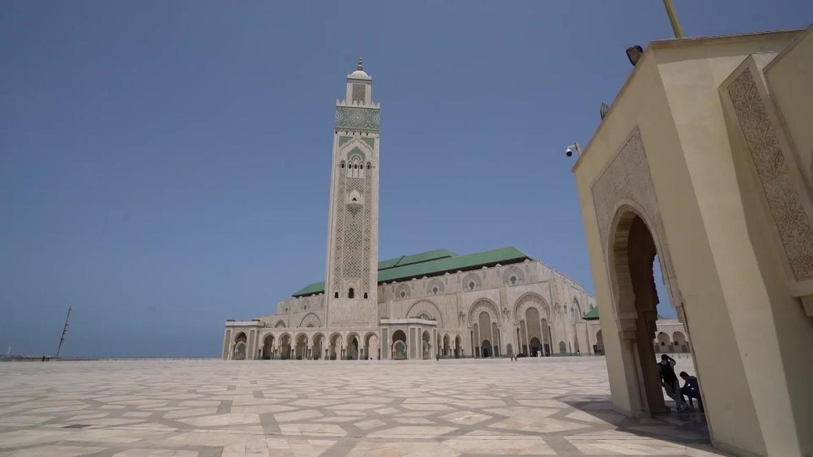 Marruecos: Reabre la segunda mezquita más grande de África mientras se suaviza el confinamiento