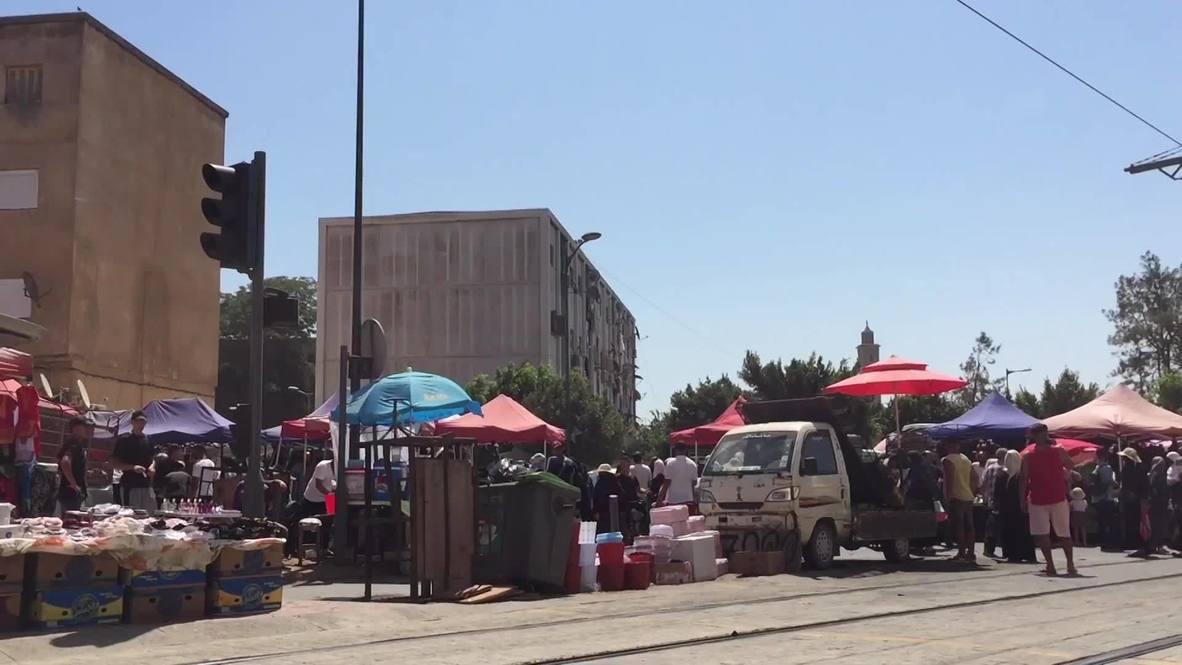 الجزائر: شوارع العاصمة مزدحمة رغم تسجيل أرقام قياسية في عدد الإصابات بفيروس كورونا