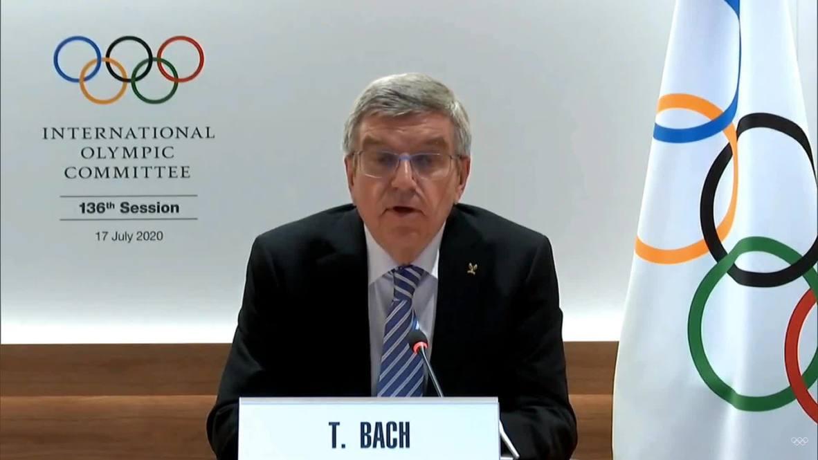 """سويسرا: رئيس اللجنة الأولمبية يؤكد بأن ألعاب طوكيو 2012 ستكون """"معلماً فريداً للعالم أجمع"""""""