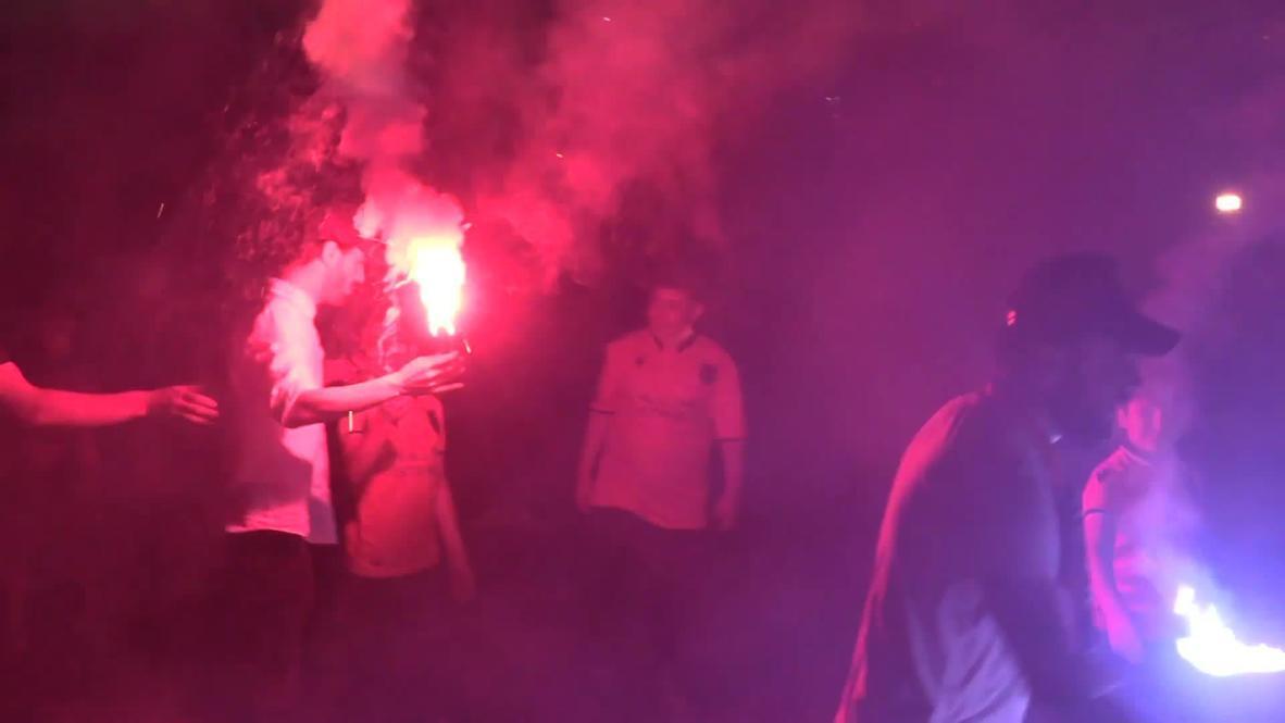 تركيا: نادي أردوغان المفضل لكرة القدم يحتفل بتتويجه بطلا للدوري التركي