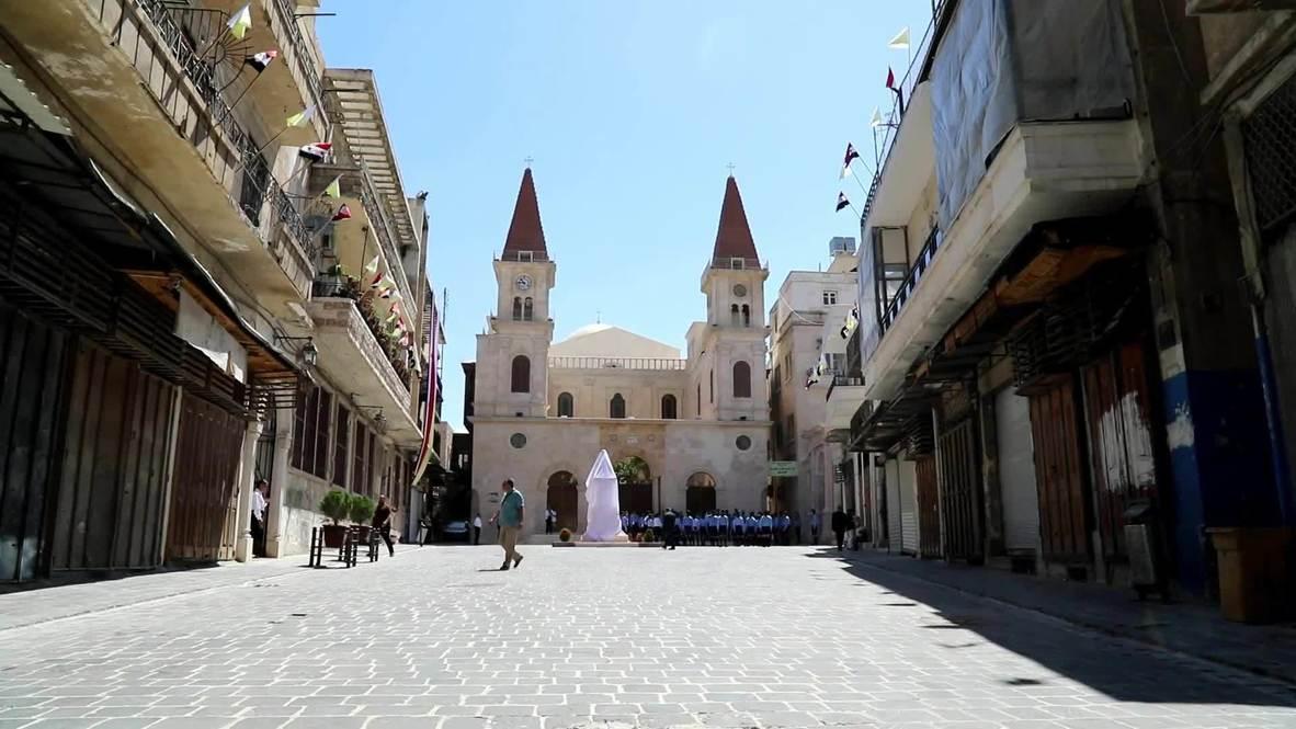 Siria: Reabre la catedral maronita de San Elías en Alepo tras su restauración